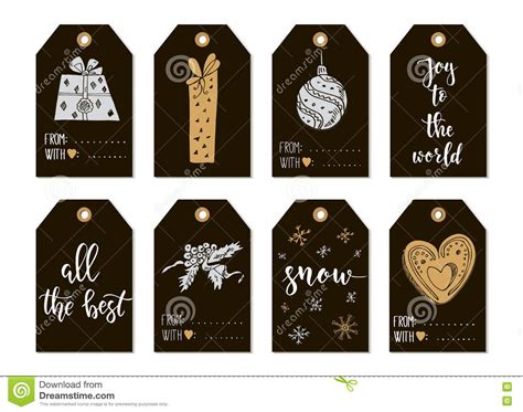 printable new year tags merry christmas and happy new year vintage gift tags cards