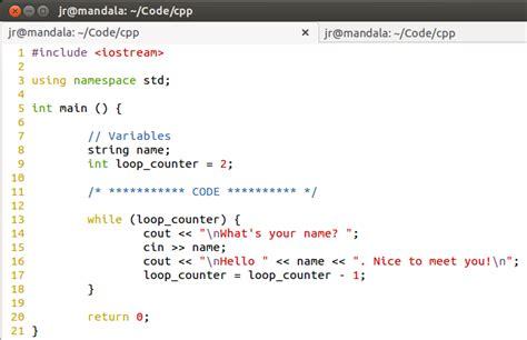 coding loop hacking cisco cpp 07 while loop