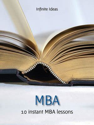 How Can I Afford An Mba by Mba By Infinite Ideas 183 Overdrive Rakuten Overdrive