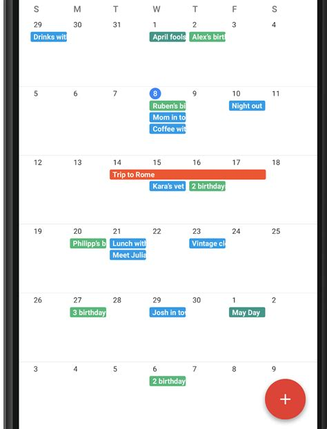 android tutorial view github android custom calendar with month view coding question