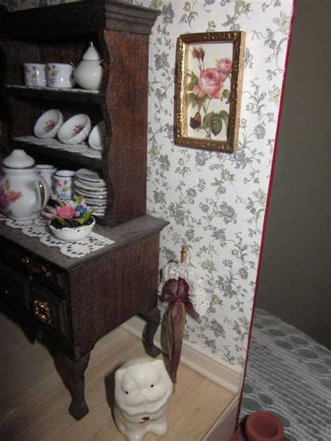 what to put in a china cabinet besides china 17 best images about tea house dollhouse on