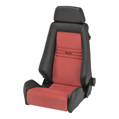 reclining seat recaro specialist l reclining sport seat gsm sport seats
