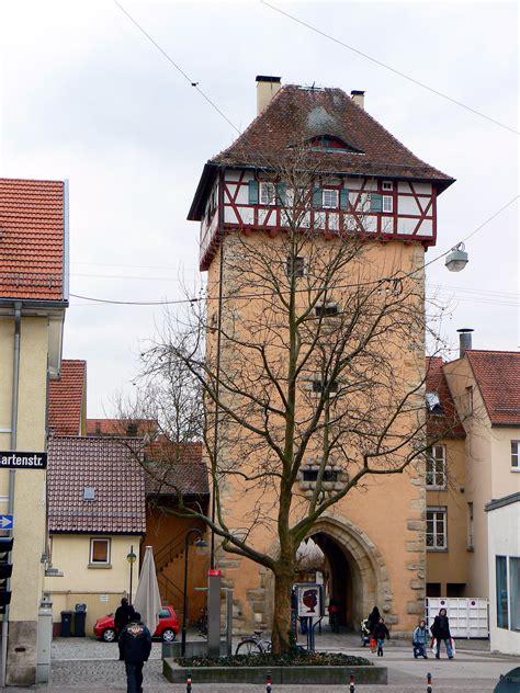 file reutlingen gartentor jpg wikimedia commons - Reutlingen Gartentor