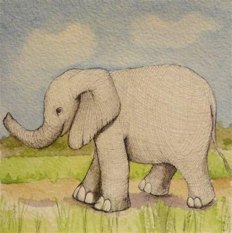 watercolor elephant tutorial 65 best elephants watercolor images on pinterest