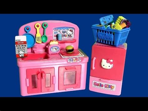 Toaster Hello Kitty Play Doh Hello Kitty Mini Kitchen Preschool Playset