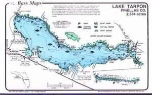 lake tarpon maps