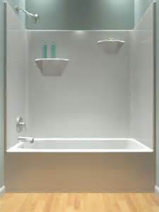 One Piece Bath And Shower Tub And Shower One Piece