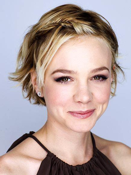 pixie cut to disguise thinning hair totally love this one carey mulligan hairstyle for