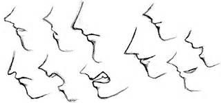 tutorial gambar hidung cara membuat hidung dan mulut anime