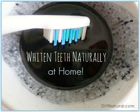 whiten teeth naturally  home diy natural beauty