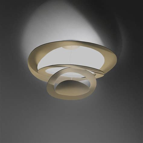 artemide pirce soffitto mini spiral deckenleuchte soffitto artemide