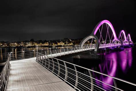 bridge pattern in net 美しく光る橋 ljuss 228 ttning av bron i s 246 lvesborg designworks