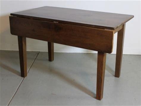small drop leaf table in oak farmhouse dining tables