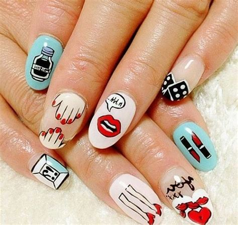 Photo Ongle Deco by Les Tendances Chez La D 233 Co Ongles 62 Variantes En Photos
