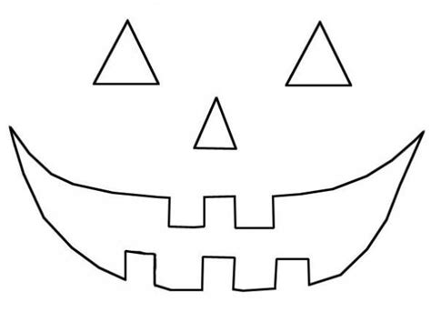 Happy Pumpkin Template by Classic Happy Pumpkin Carving Template