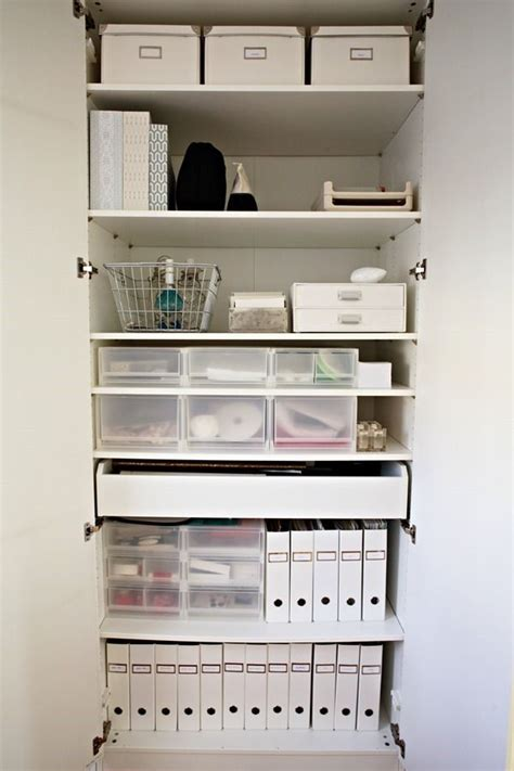 organize office closet best 25 office supply storage ideas on