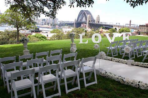 wedding ceremony and reception venue sydney observatory hill wedding ceremony adorable wedding concepts