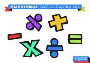 math symbols free vector pack vol 6 free