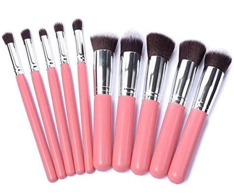 Bedak Blush Makeup Brush Set 10pcs set kecantikan alat solek berus make up bedak