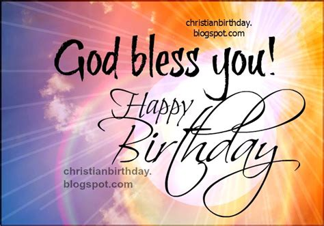 God Blessing Quotes On Birthday Blessings On Your Birthday Quotes Quotesgram