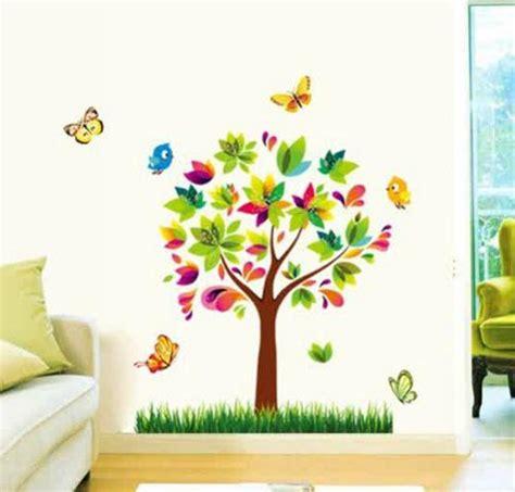 Cinderella Kupu jual wall sticker pohon kupu kupu uk 50x70 wallsticker