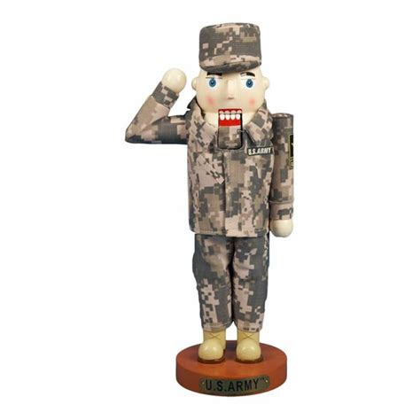 u s army soldier nutcracker my heart bleeds red white