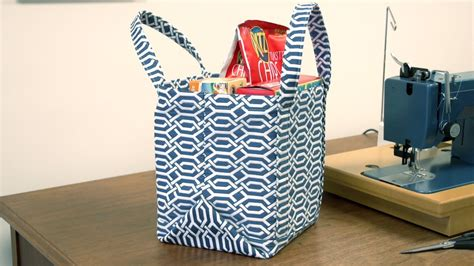 How to Make a Market Tote Bag   YouTube