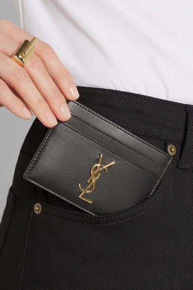 Ysl Card Holder By Lenxshop by Laurent Ysl Card Holder With Monogramme Dashing