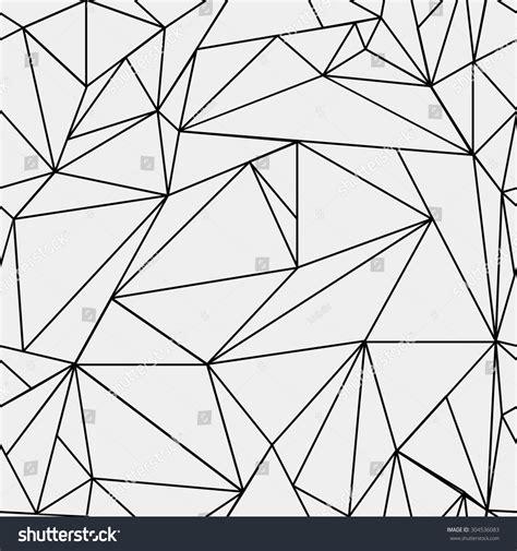 triangle pattern glass geometric simple black white minimalistic pattern stock