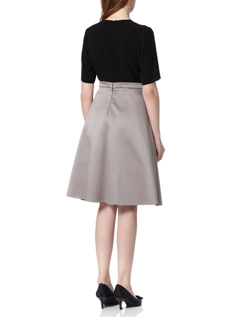 almost a line skirt dress in blue lyst