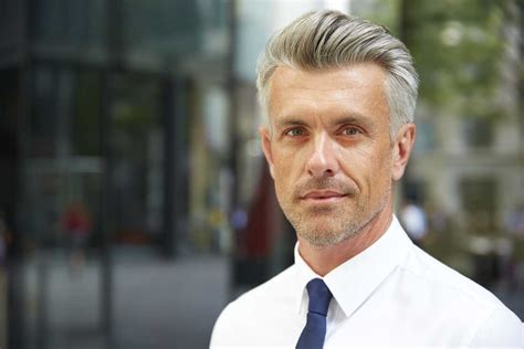 hot haircut for 50 year old men 9 reasons why guys with grey hair are hot