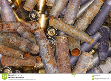 with used bullet casings bullet casings stock photo image 39905631