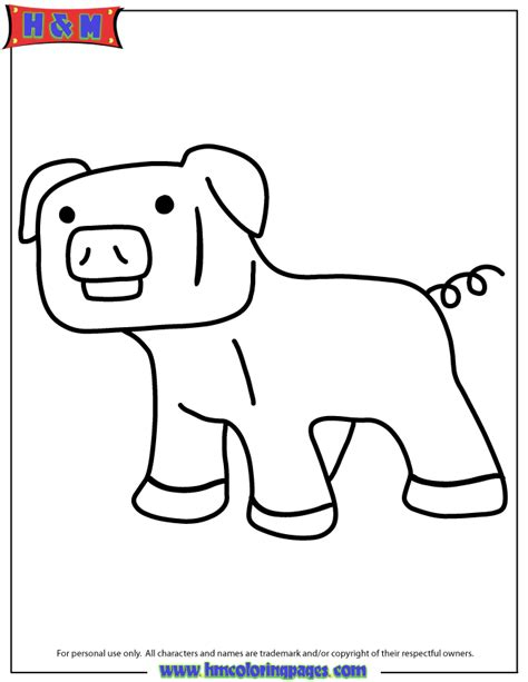 minecraft coloring pages pig free coloring pages of minecraft baby pig