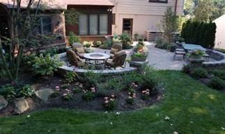 Outdoor Patio Landscaping Ideas backyard patio and landscape design build ideas in columbus