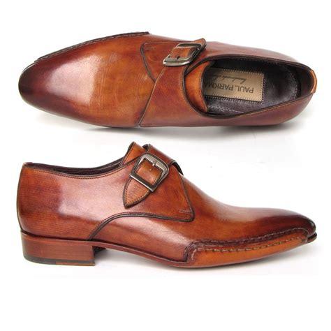 paul parkman shoes paul parkman side sewn monk shoes tobacco