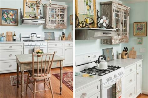 shabby chic kitchen designs 25 ingr 233 dients pour la d 233 co de cuisine style shabby chic