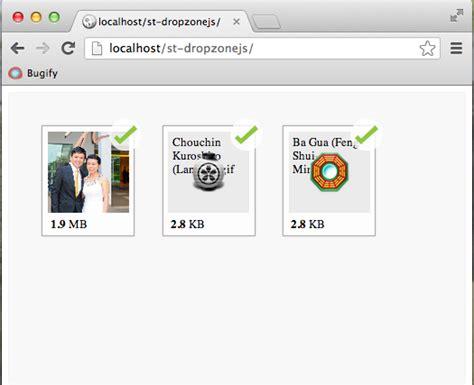 dropzonejs php   build  file upload form