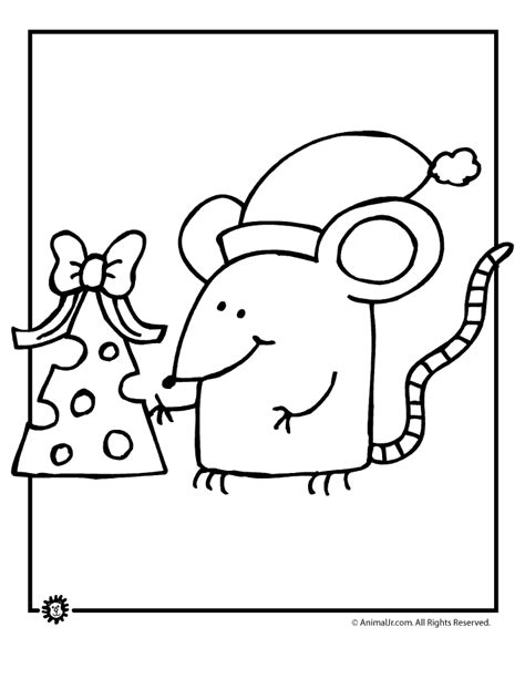 cute mouse coloring pages cute christmas coloring pages az coloring pages