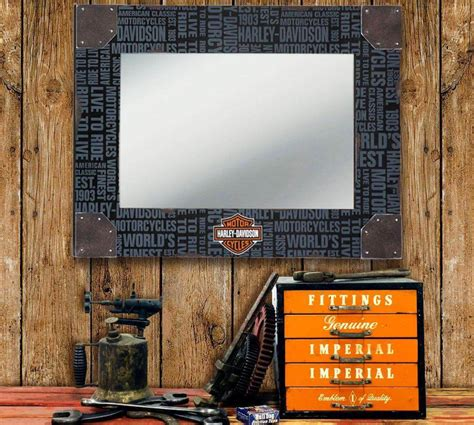harley davidson home decor mirrors home design and decor