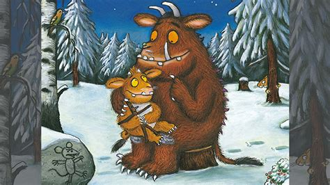 make your own gruffalo christmas decorations