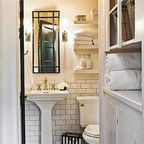 small cottage bathroom ideas to da loos white subway tiles with dark grout do we like it
