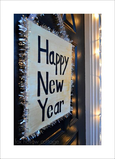 new year diy new year s diy decorating ideas fox hollow cottage