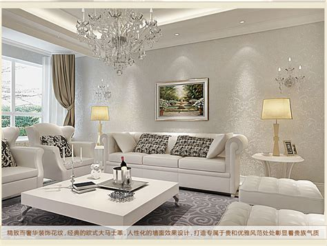 Silver Wallpaper For Living Room by Wall Paper Rolls Picture More Detailed Picture About