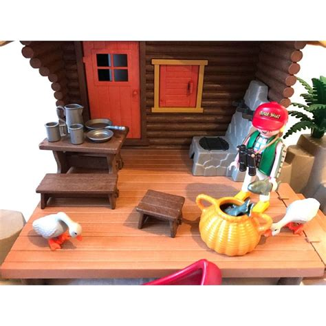 cabin fisher 3826 cabin fisher second playmobil