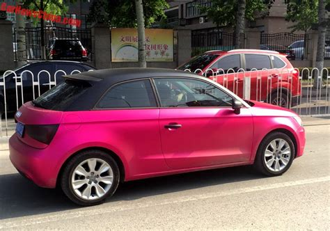 Audi A1 Pink by Pink Cars In China Archives Carnewschina