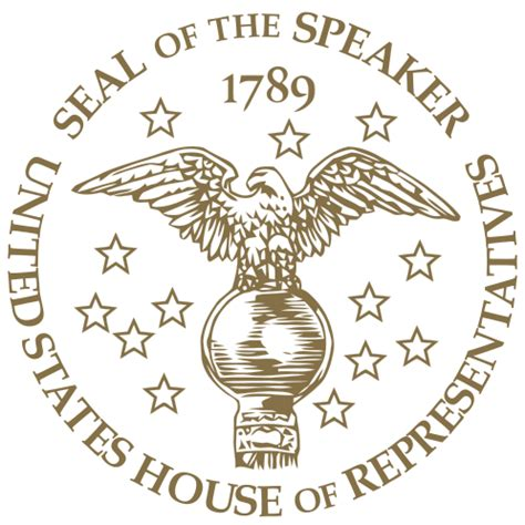 house of representatives seal speaker of the united states house of representatives presidentialpedia