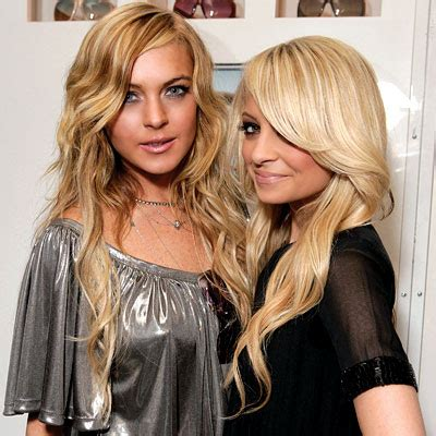 Richie And Lindsay Lohan by Lindsay Lohan And Richie Meets Lindsay When