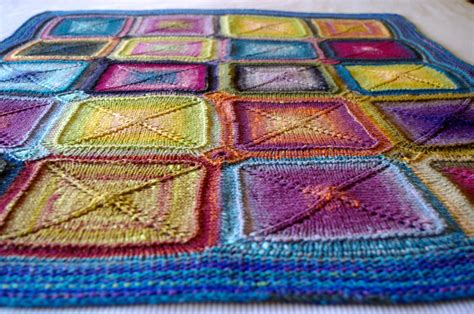 knit quilt patterns knitting blankets and a pattern for mitred squares knit as