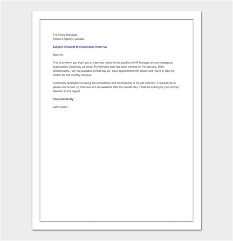 email reschedule interview reschedule interview email sle image collections