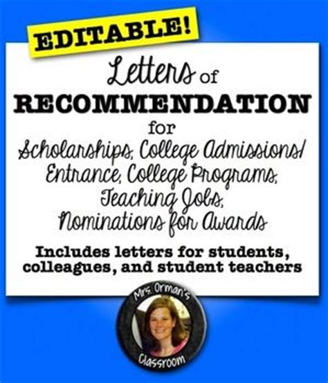 Recommendation Letter For A Student Award student reference letter and teaching on
